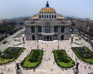 palacio de bellas artes, mexic