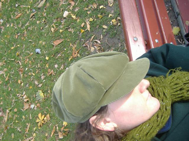 eu in verde de toamna