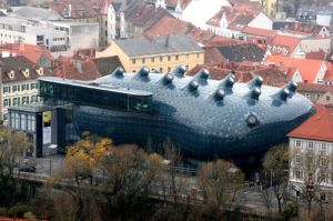 kunsthaus Graz - the friendly alien