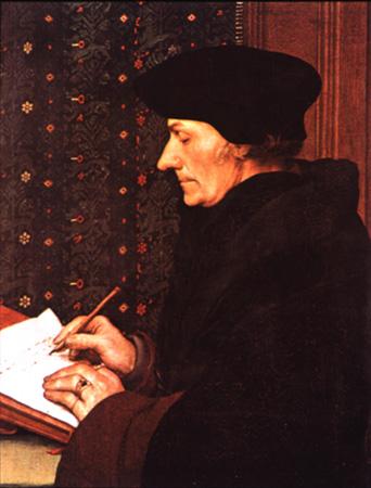 erasmus don Rotterdam (nu intamplator autorul Elogiului nebuniei) patronul spiritual, alaturi de Bachus si de Priap, al studentilor europeni